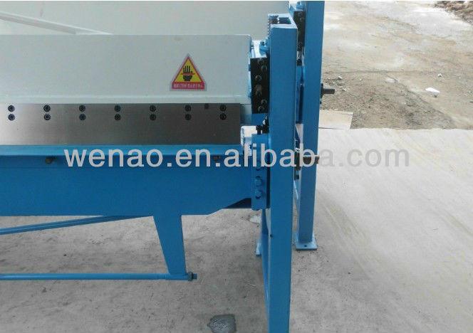 HS-2X1300 Hand folder machine