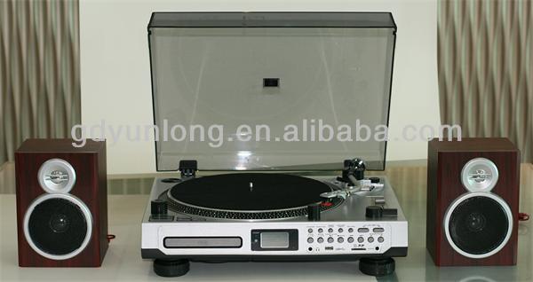 R tro vinyle 3 vitesses tourne disque tourne disque - Tourne disque avec haut parleur integre ...