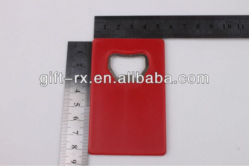 plastic card bottle opener with ABS meterial