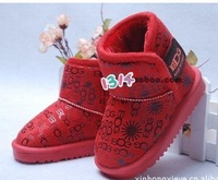 Детские ботинки baby shoes, winter kids boys&girls snow boots, 1pcs sell=cotton+Rubber shoes, CBRL sell, rubber boots, CPAM