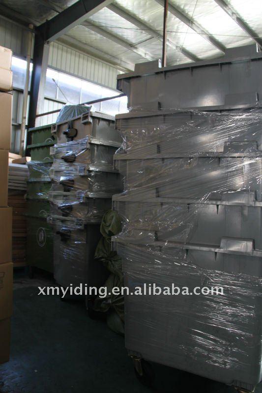 1100L Large Plastic waste bin garbage bin