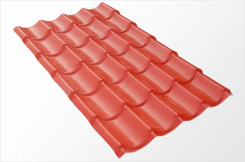 types of metal roof tiles