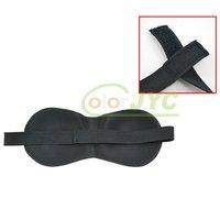 Маска для глаз Black Eye Sleep Mask Sleeping shade, Aid Travel Rest