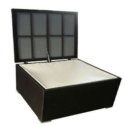 Outdoor Rattan Furniture KD Storage Box Cushion Box Pillow Box