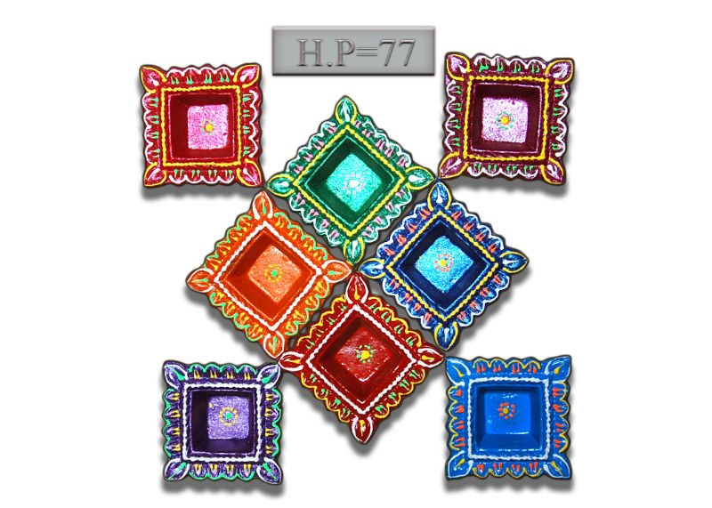 Designs Of Diyas Design Of Diyas Rangoli Designs With Diya Clay ...