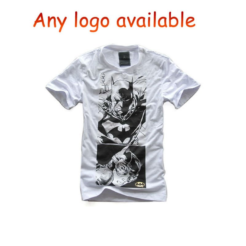 Men T Shirt, Made of 100% Cotton, Customized Colors and Printing are Accepted