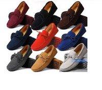 Мужская обувь на плоской платформе shopping/men's shoes/Kraft matte surface Men's casual comfort foot massage Optional 10-color