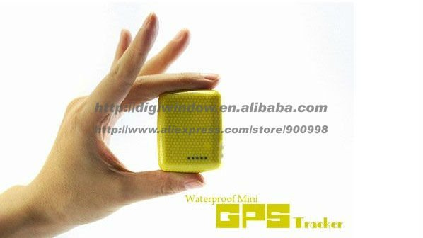 Waterproof cheap mini gps tracker with SOS Button free shipping (DW-TK105)