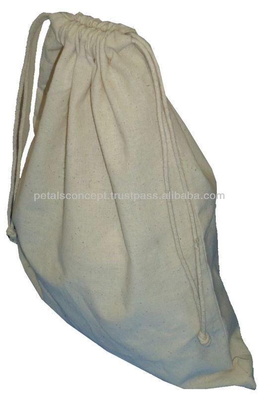 Drawstring cotton bag