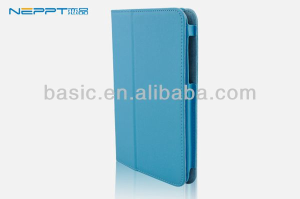 Neppt high quality folio flip leather stand case cover for Lenovo Ideatab A5000 tablet,made in china,wholesale/retail