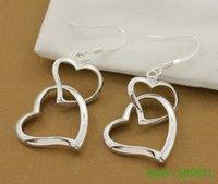 Серьги висячие Clip drop hoop stud earring gmda pdla xuta 2 * 4,5 gy2/pe267 925 silver