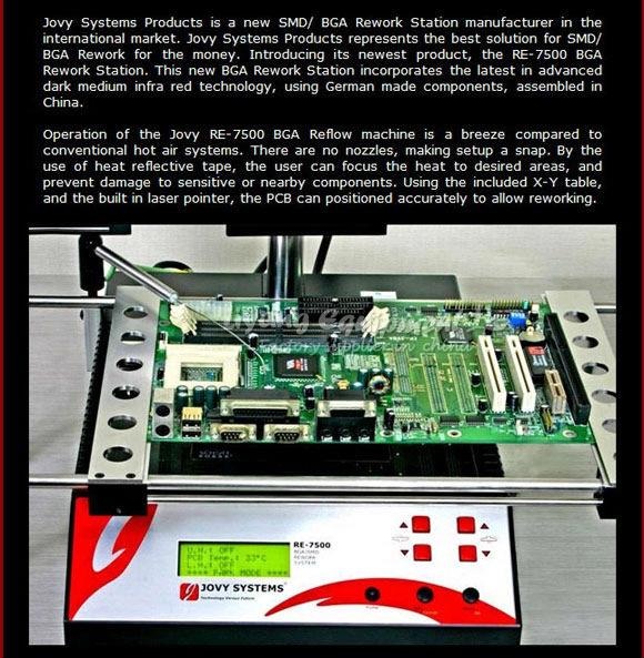 Rework Station Jovy re 7500 Jovy re 7500 Bga Rework