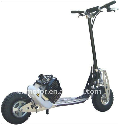 2-Speed 49CC foldable gas scooter with CE