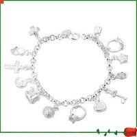 Серебро Браслеты aimtop ювелирных изделий h144