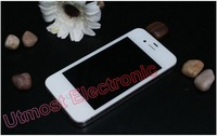 "cheap smartphone 4GS MTK6513 CPU 3.5""capacitive Android 2.36 with GPS WIFI F8 I5 5S 1:1appearance 4S Built-in 8G Free shipping"