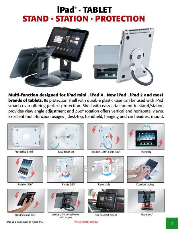 Tablet Cover for iPad 4/New iPad/iPad2