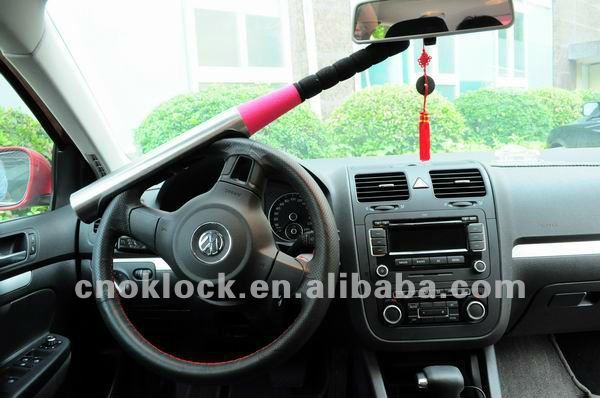 baseball bat steering wheel lock P1