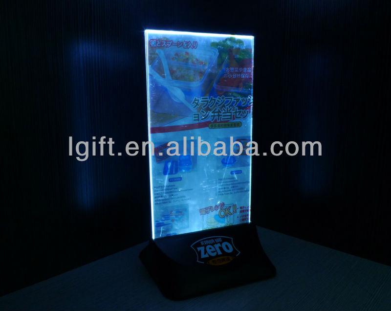LED Menu Holder for Promotion Item