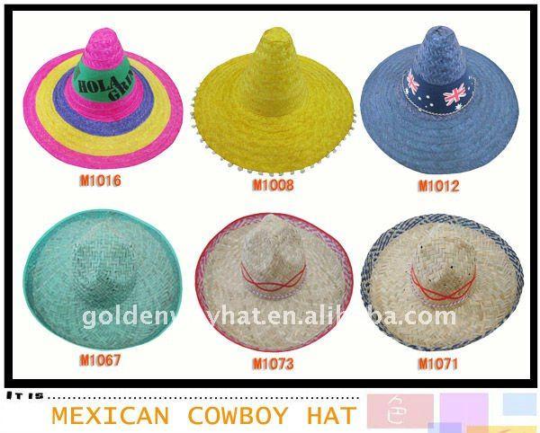 Mexican Sombrero Cowboy Hat