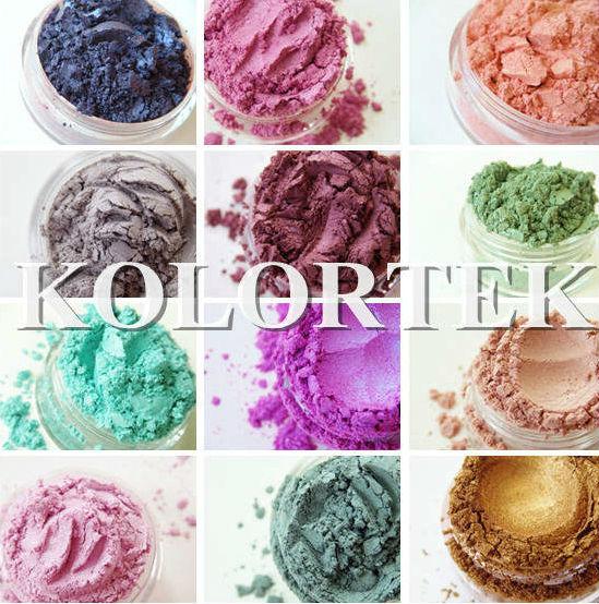 Melt and pour soap mica pigments