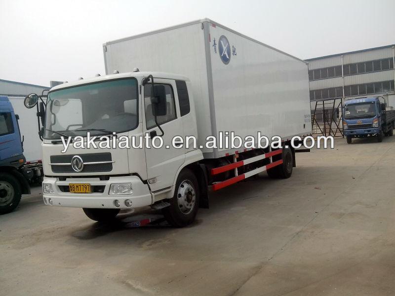 Diesel refrigerated truck van