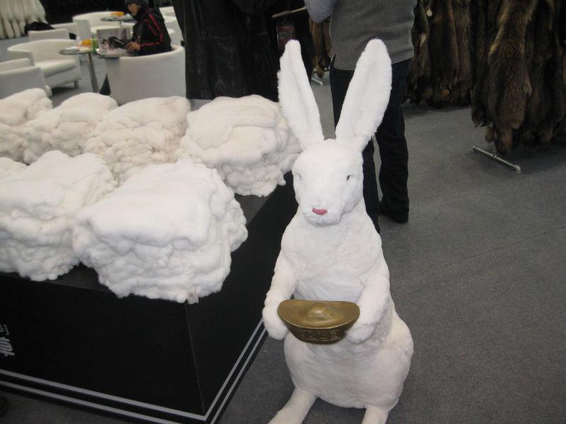 Rex Rabbit Fur Blanket Rex Rabbit Fur Blanket