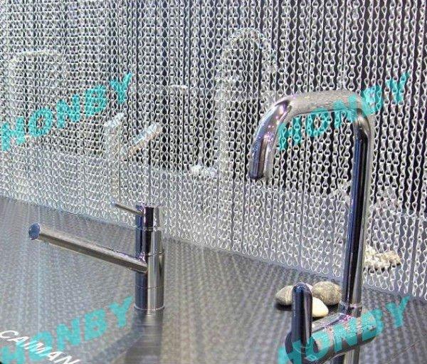 Metal Chain Curtain Door Fly Screen