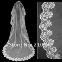 Wholesale Bestseller 2.5 Metre White/Ivory Lace Wedding Veils