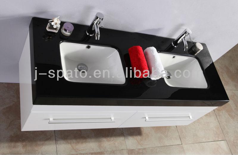 2013 Hot Sale Hanging Modern MDF Bathroom Mirror Cabinets JS-B010