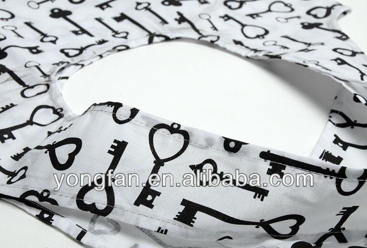 Promtional custom cotton foldable shopping bag
