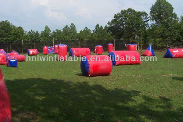 hot pvc cheap tactical inflatable bunkers wall for sale