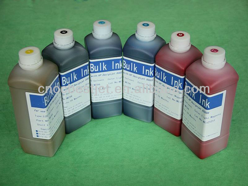 HP 8000S 9000S ECO-SOLVENT INKS 7