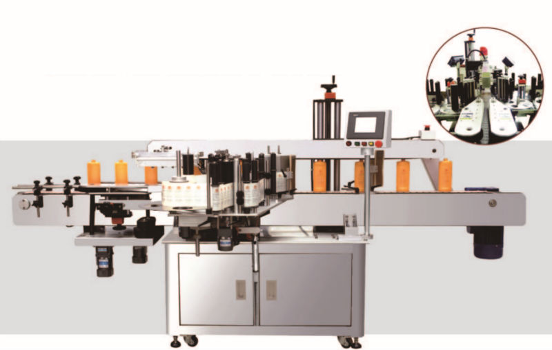 high-speed double-sided automatic labeling machine