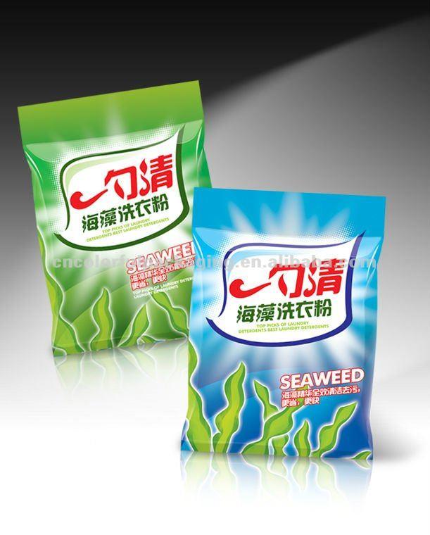 пластиковые моющие средства стиральный порошок целом продажи упаковки мешков