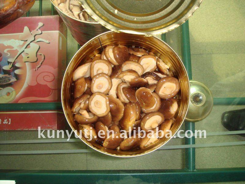 Консервы шиитаке всего с высокое качество