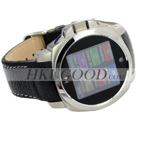 freeshipping K650 water proof watch phones camera real watchproof quad band unlocked bluetooth FM MP3/4