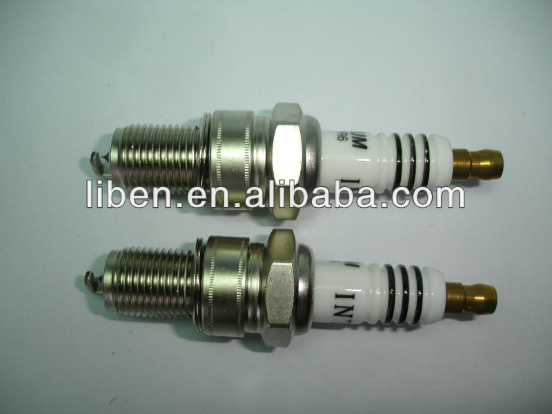 car accessories spark plug EIX-BPR6 match with Denso IW20