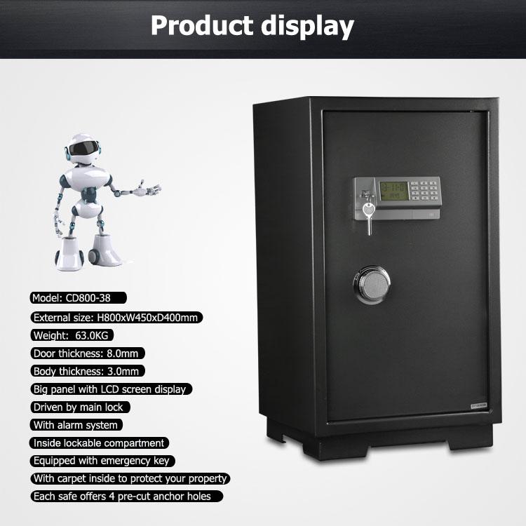 2016 новая серия большой Офис шкафу сейф с высоким качеством стали напрямую с завода