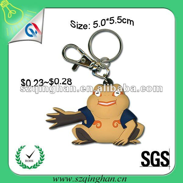 wholesale fashion 3d motorcycle pvc keyring/keychain for promotion