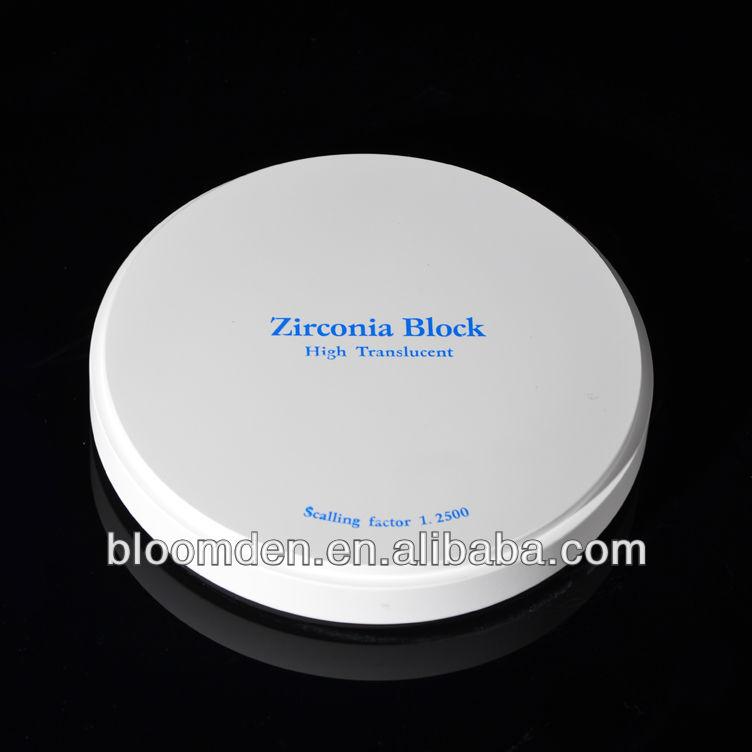 Zircone dentaire blocs pour imes - icore fraiseuse