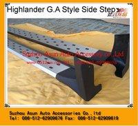 TOYOTA HIGHLANDER G.A Style car body kit for 2009+ aluminum new style