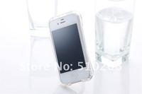 Чехол для для мобильных телефонов Newest crystal deff bumper case for iphone 4g 4s, Translucent deff bumper case for iphone 4+retail package MOQ:1pcs