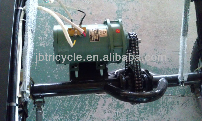 60V super power cargo e rickshaw tricycle new motorcycle sidecar JB400-05C