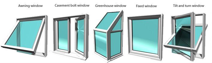 Aluminum Sliding Reflective Glass Balcony Window View