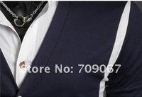 Мужской кардиган 2011 Large cheap fashion Sweater Casual Slim Sexy men's slim sweater big V lapel cardigan man small coat Sweatshirts