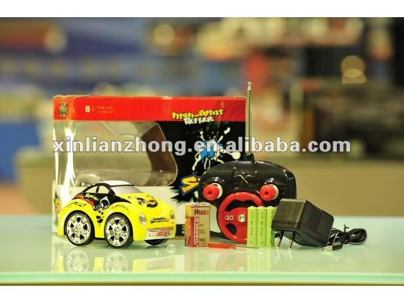 Radio control mini rc stunt car 4 colors