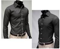 Мужская свадебная рубашка ZP , Slim fit shirt.m l XL xXL zh-40