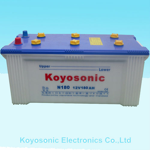 Lead Acid Dry Battery for Car Starting-N180-12V180AH
