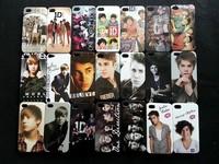 Чехол для для мобильных телефонов 10pcs New ID band and Justin Bieber Hard Back Case for iPhone 4 4S
