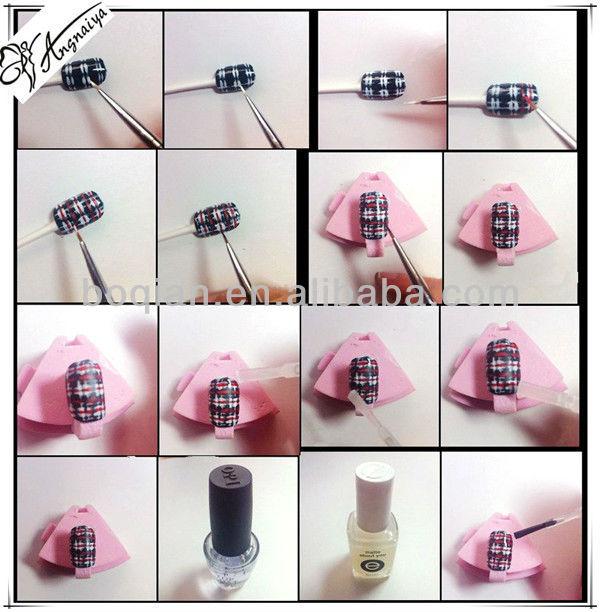 Factory Direct 7pcs Brush Nail Art Painting Set, View brush nail art